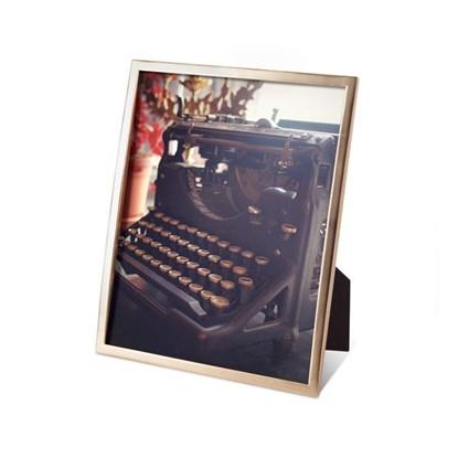 Fotorámeček SENZA 20x25 cm mosaz_0
