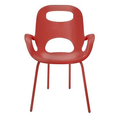 Židle OH červená_0