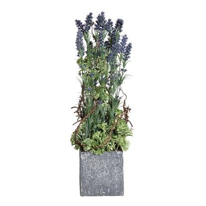 Umělá levandule V.50cm (vč.květináče)_0