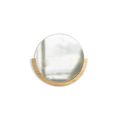Zrcadlo MIRA s jasanovým rámem_5
