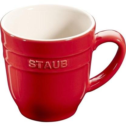 Hrnek Staub 9cm červený_1