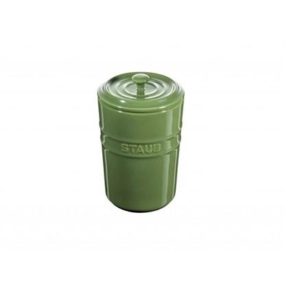 Dóza Staub s víčkem zelená_0