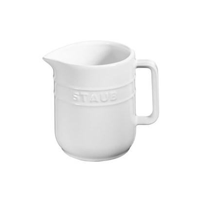 Džbánek Staub 10cm bílý_0