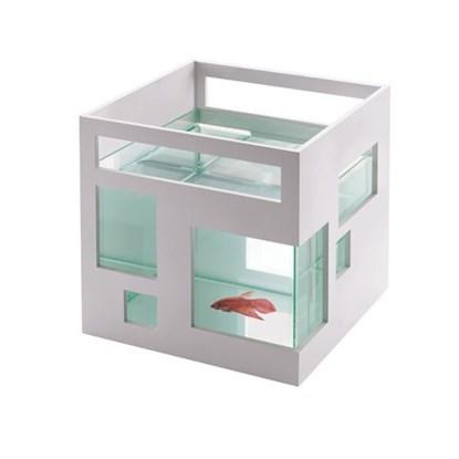 Akvárium FISHHOTEL 19x19x20 cm bílé_0