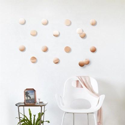 Dekorace na zeď CONFETTI DOTS SET/16 ks_5