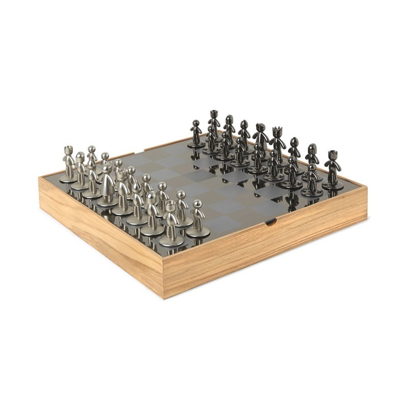 Šachy BUDDY 33x33 cm_0
