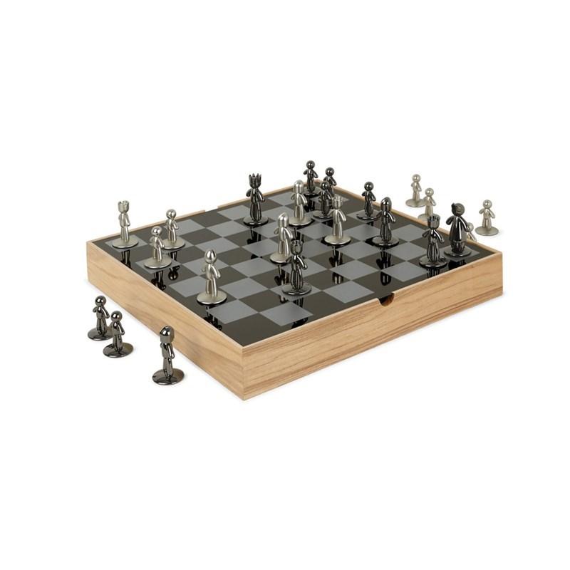 Šachy BUDDY 33x33 cm_1