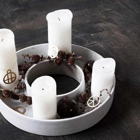 Obrázek pro kategorii Advetní věnce a svícny