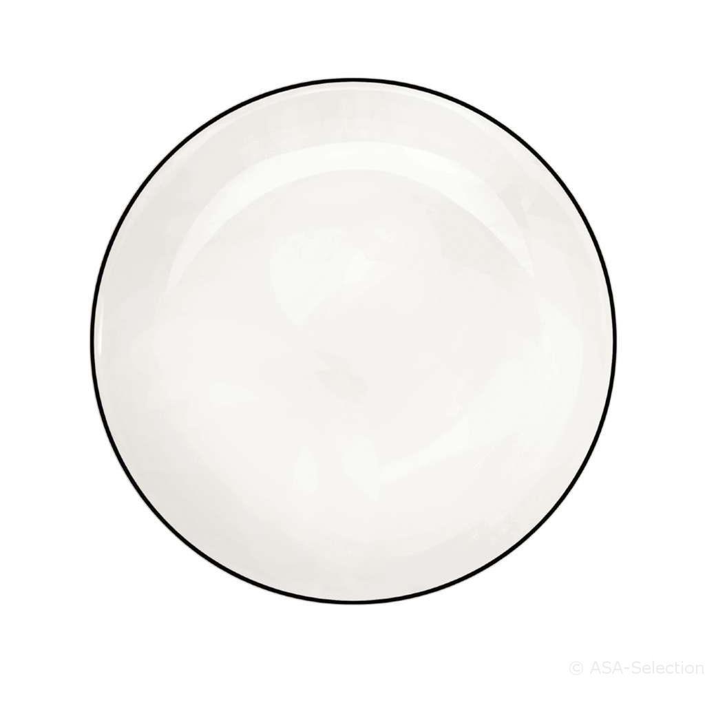 Talíř dezertní Á TABLE NOIRE 21 cm_0