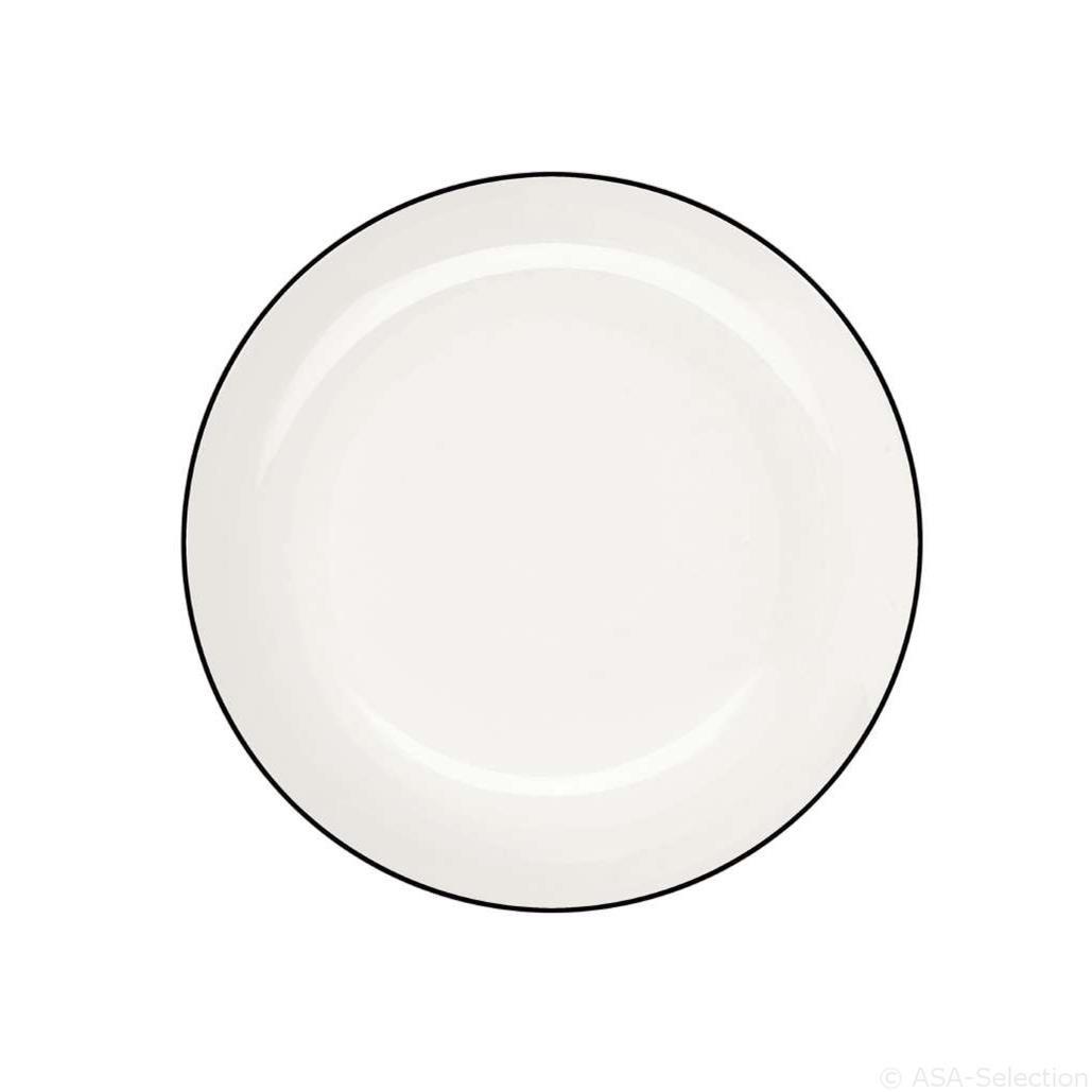 Talíř dezertní malý Á TABLE NOIRE 14,5 c_0
