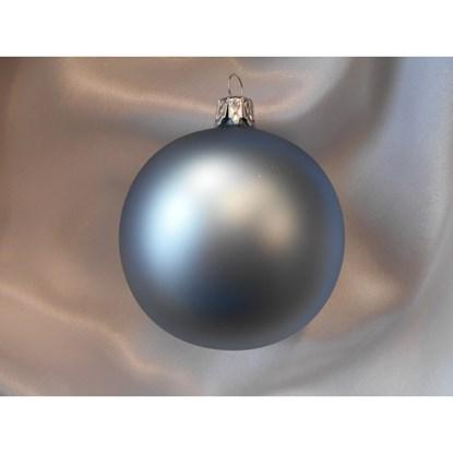 Vánoční koule 10 cm - mat SET/4ks_0
