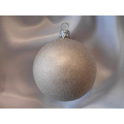 Vánoční koule 10 cm - celoposyp SET/4ks_0