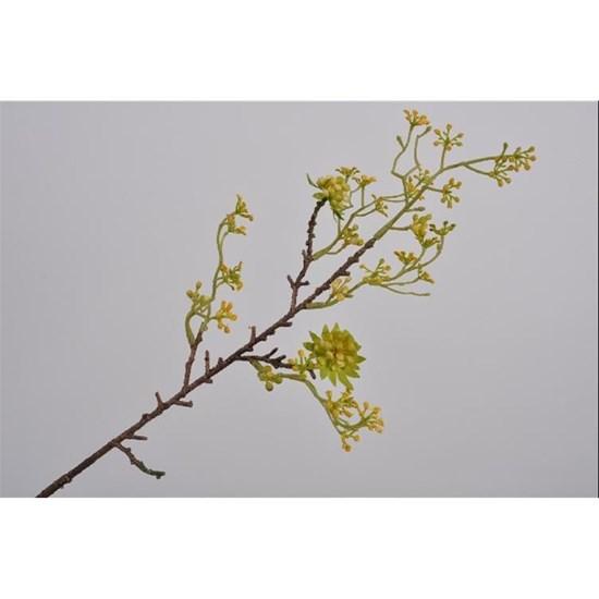 Větvička s bobulkami žlutá/zelená_0