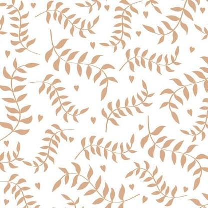 Papírové ubrousky 33x33cm Zweige-weiá_0