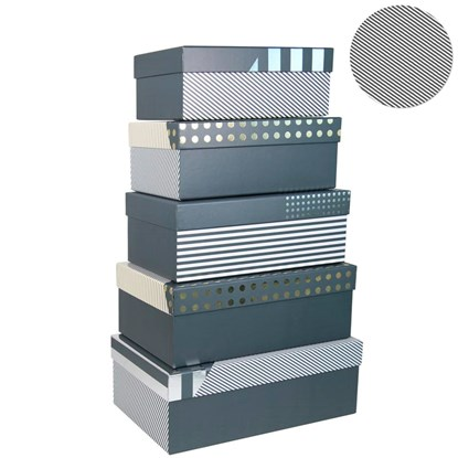 Dárková krabice kvadratická 5 dr Satz-Bl_0