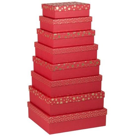 Dárková krabice kvadratická 8 dr Satz-St_0