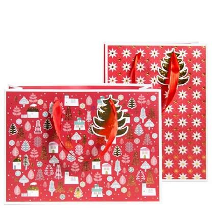 Dárková taška 2-fach sortidrt-Weihnachte_0