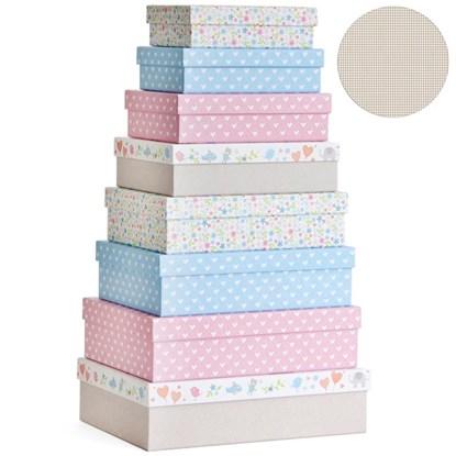 Dárkové krabice SET 8 ks-Baby_0