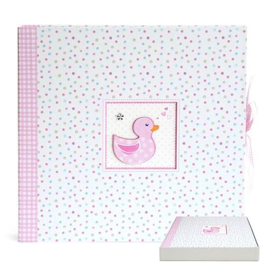 Fotoalbum 35x35cm/baby/duckling/pink_0