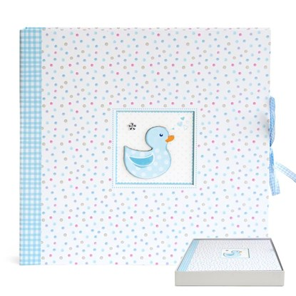 Fotoalbum 35x35cm/baby/duckling/blue_0