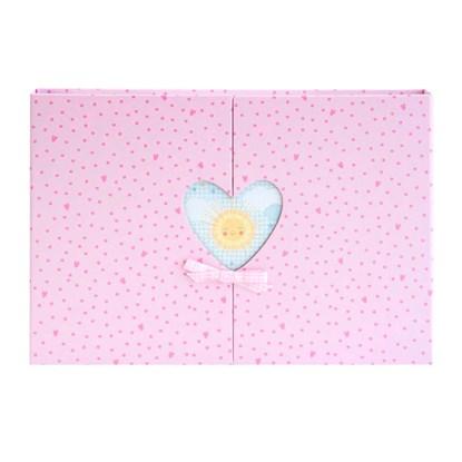 Fotoalbum 35x24 Baby Herzfenster rosé_0