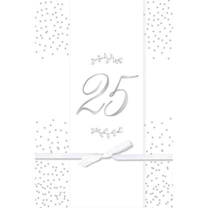 Přání k výročí svatby 25 let s obálkou_0