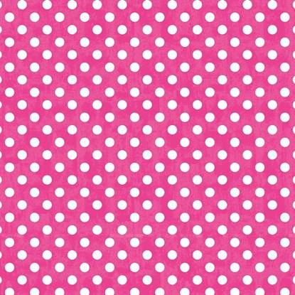 Papír. ubrousek 33x33cm Punkte pink_0