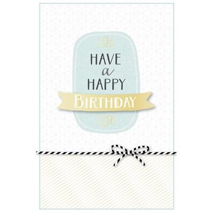 Přání Birthday Typographie Schleife 3D_0