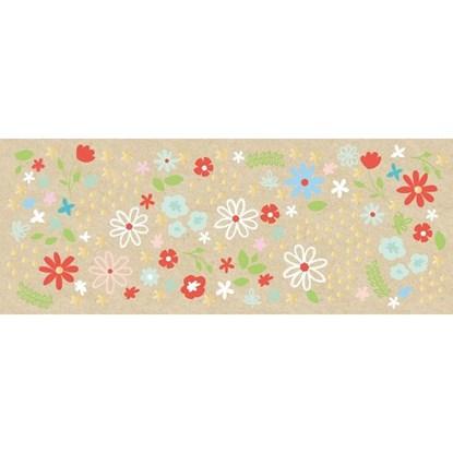 Přání ražené Blumen 21x8cm_0