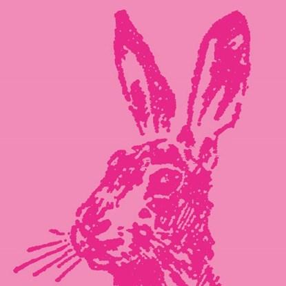 Papír. ubrousek 33x33cm Hase pink_0