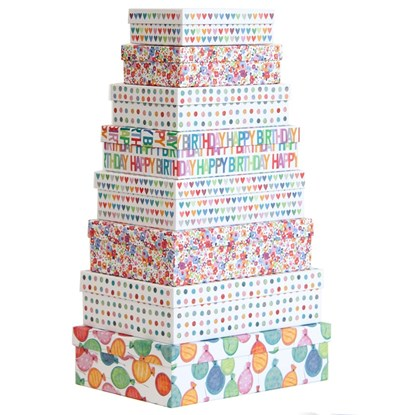 Dárkové krabice SET 8 ks-Party_0