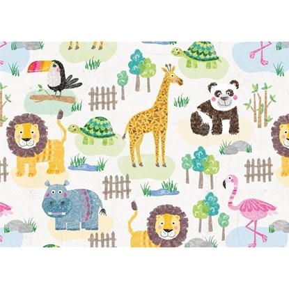 Balicí papír 50x70cm zoo animals_0