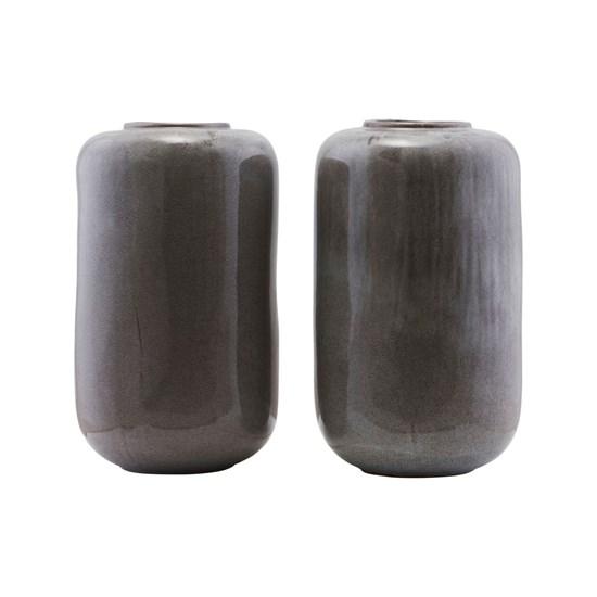 Váza nefritová, šedá, P.29 cm, v.50 cm_2