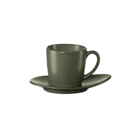 Šálek na espresso s podšálkem CUBA VERDE_0