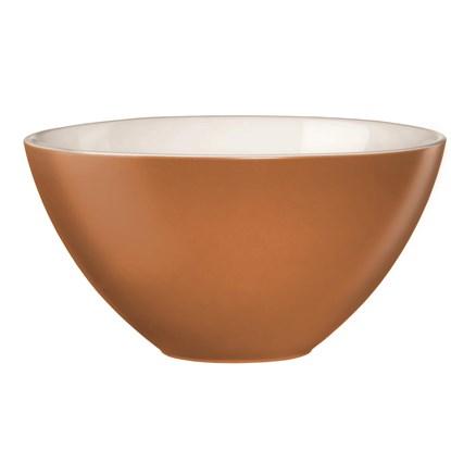 Keramická miska 30 cm skořicová_0