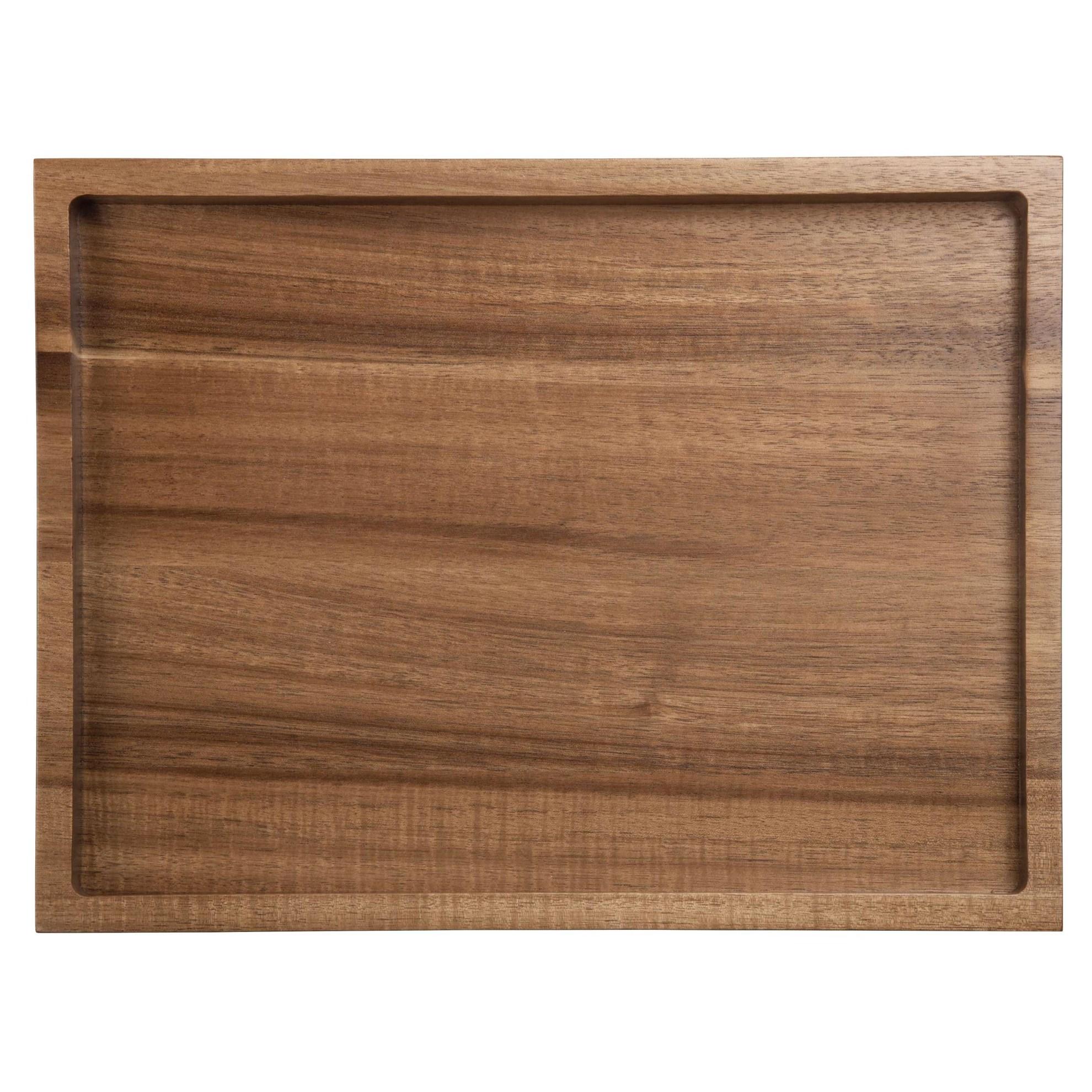 Dřevěný podnos WOOD 32,5x24,5 cm_0