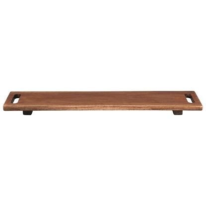 Dřevěný podnos na tapas WOOD 60 cm_0
