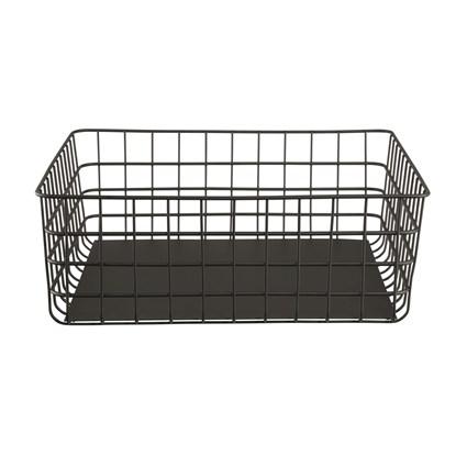 Drátěný košík do kuchyně 30x30 černý_0