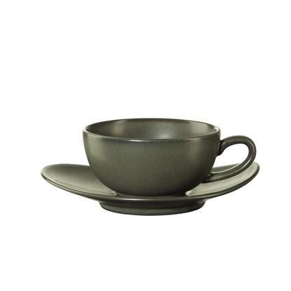 Šálek na čaj s podšálkem CUBA VERDE_0