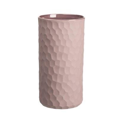 Váza CARVE 24 cm růžová_0