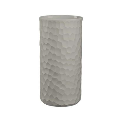 Váza CARVE 24 cm světle šedá_0
