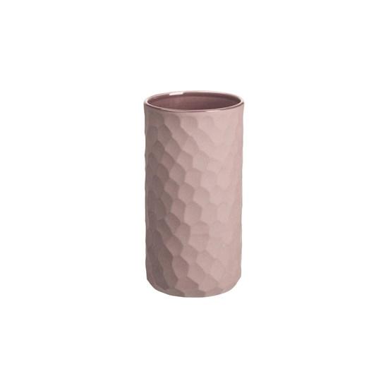Váza CARVE 16 cm růžová_0