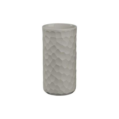 Váza CARVE 16 cm světle šedá_0