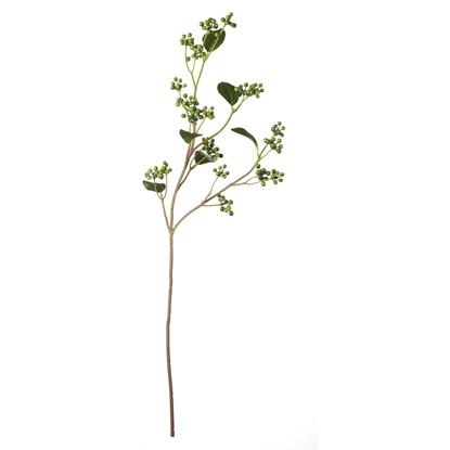 Větvička bobule 77,5 cm zelená_0