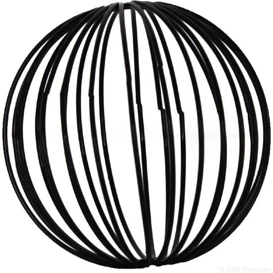 Dekorační koule 6 cm SET/4ks černé_0