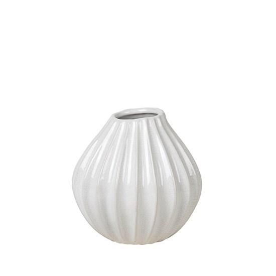 Váza WIDE 15cm slonová kost_0