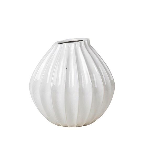 Váza WIDE 25cm slonová kost_0