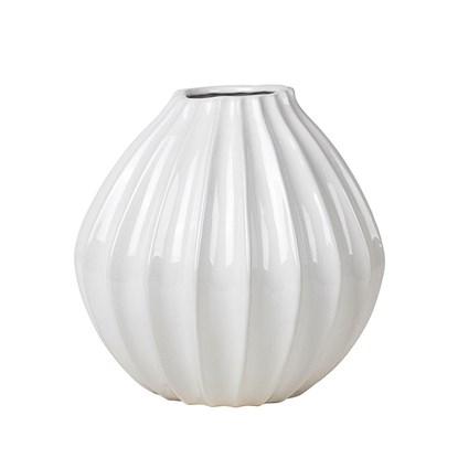 Váza WIDE 30cm slonová kost_0