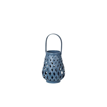 Lucerna BRANDY 25 cm modrá_0