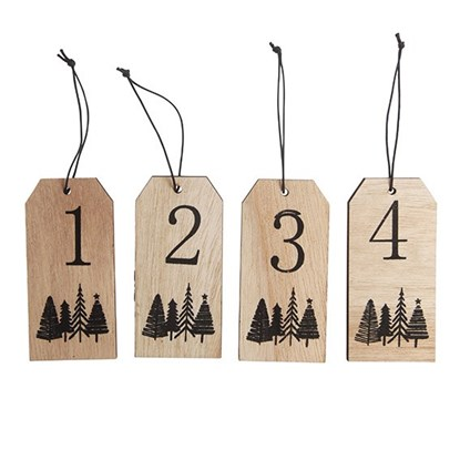 Wooden gifttags w. numbers 1-4_0